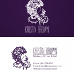 business card Sample by Justin Kelefas HDRcustoms Graphic Design west palm beach florida