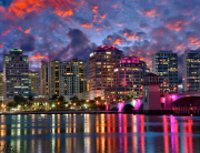 downtown-west-palm-beach-sunset-cityscape