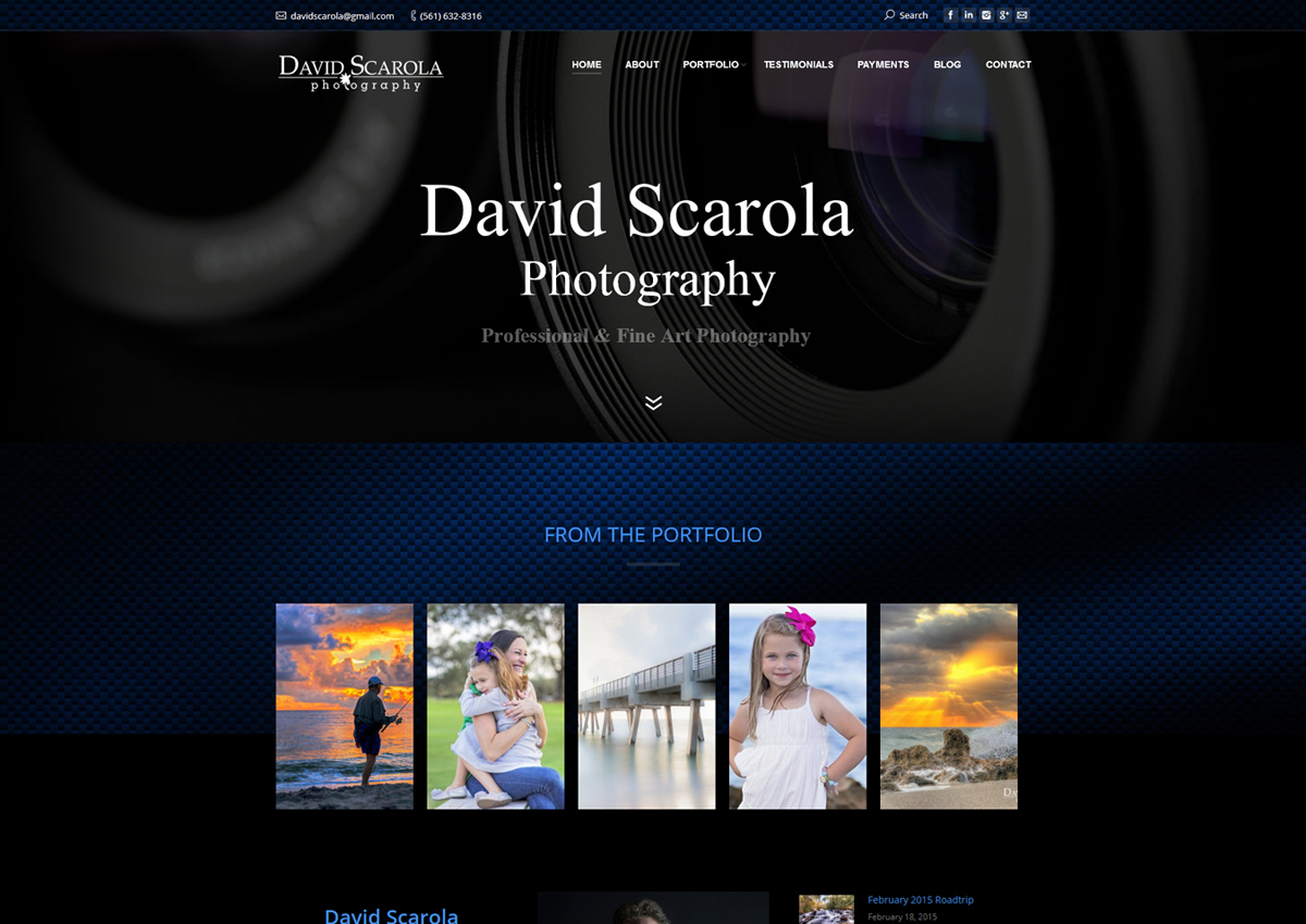 Design Portfolio – HDRCustoms.com Custom Websites Design Services ...